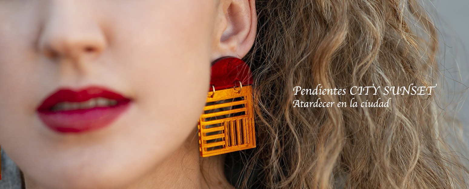 Pendientes CITY SUNSET